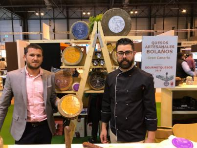 El queso Bolaños Fontanales Medalla de Plata en el Salón de Gourmets de Madrid