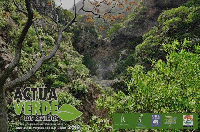 Los Realejos presenta 'Actúa Verde' con más de 50 actividades medioambientales en 2018