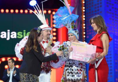 Los Cariocas se alzan con el primer premio de interpretación del concurso de comparsas