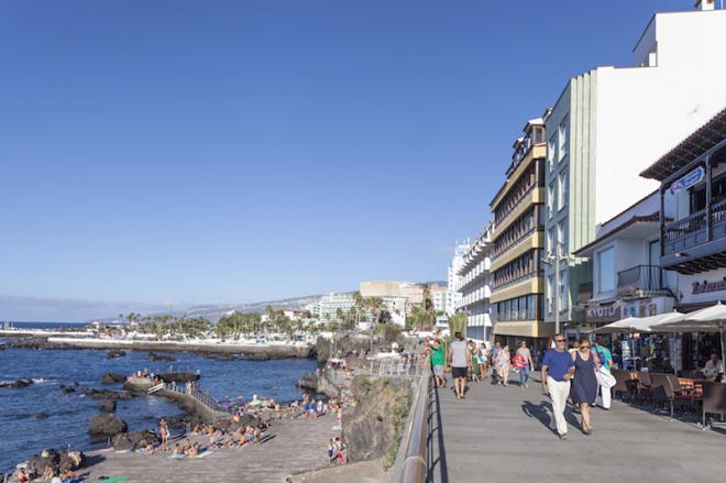 Las pernoctaciones en Puerto de la Cruz suben un 2,2% y la estancia media supera los siete días