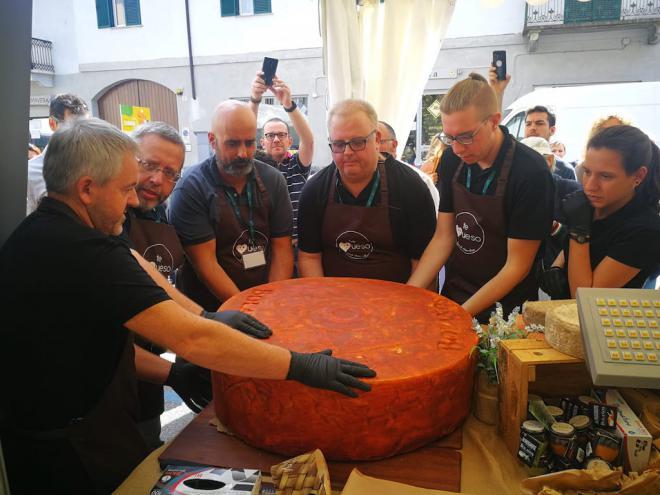 El queso de Canarias se estrena como participante en la feria internacional Cheese 2019 de Italia