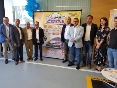 Presentación del 5º Rallye Ciudad de La Laguna
