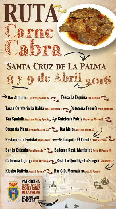 "Organizan la ""Ruta de la Carne de Cabra"" en La Palma"