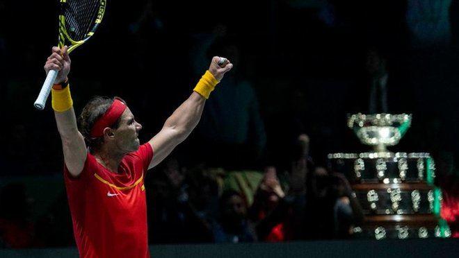 España conquista la Copa Davis de tenis de la mano de Rafa Nadal