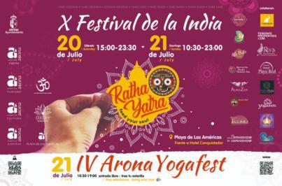 Ratha Yatra, una de las fiestas con más relevancia de la comunidad hindú, se celebra en Arona