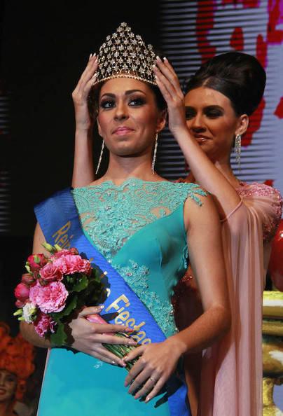 Claudia Jiménez, Reina de las fiestas de Guía de Isora 2017