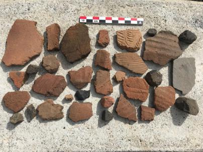 Donan al Mab restos arqueológicos, fotografías del Roque Teneguía y la Caldera de Taburiente
