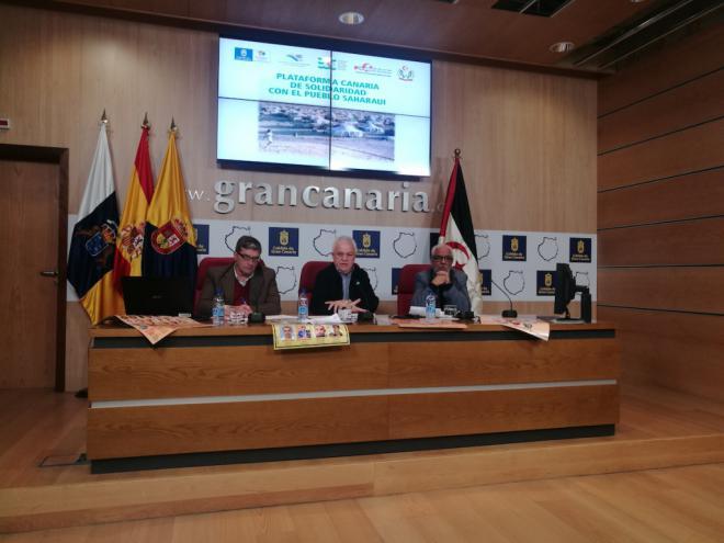 La Plataforma Canaria de Solidaridad renueva para 2018 el envío de observadores y la lucha contra el expolio en el Sahara