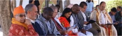 Rezo Interreligioso para pedir juntas por la convivencia y el respeto