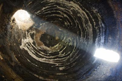 La entrada del Sol la cueva de Risco Caído de Gran Canaria no tiene nada que envidiar al templo de Abu Simbel