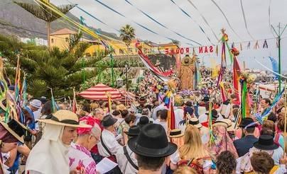Este miércoles Romería de San Roque en Garachico