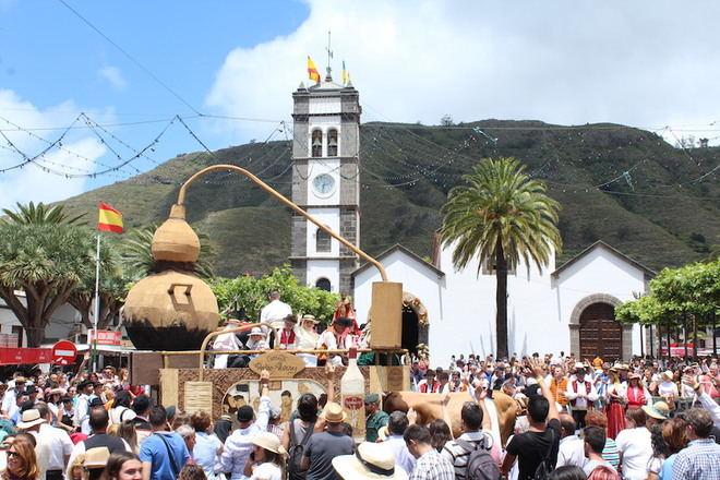 Tegueste inicia las Fiestas en Honor a San Marcos marcadas por la celebración de la 50ª edición de la Romería