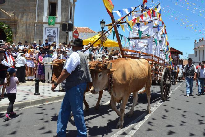 Granadilla de Abona se viste de romería este domingo en honor de San Antonio de Padua