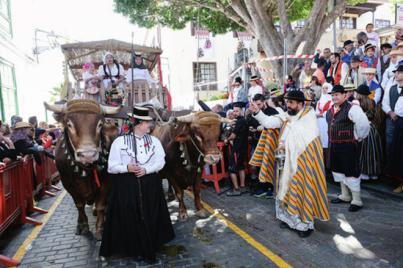 Arona celebra el inicio de 2019 vestida de romería