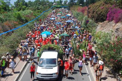 Playa de Santiago celebra las 'Fiestas de San Roque 2018'
