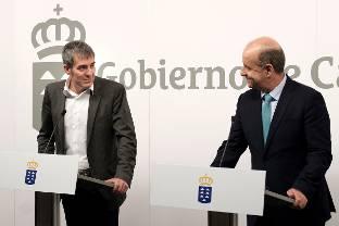 Clavijo solicita el 'anclaje' del REF a la Constitución