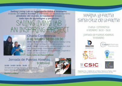 La Palma será punto de parada del proyecto 'Sailing Living Lab'
