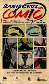 Santa Cruz acogerá el XV Salón del Cómic del 29 de noviembre al 2 de diciembre