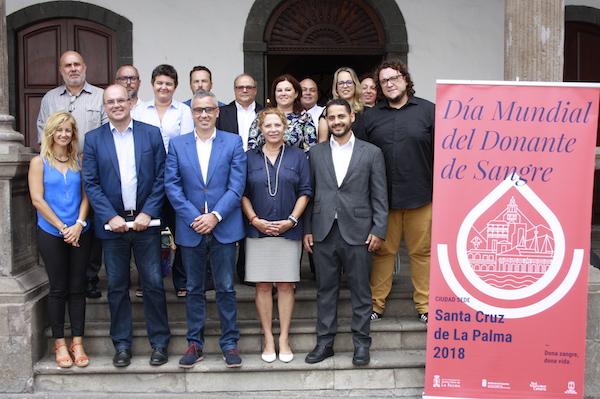 Santa Cruz de La Palma asume la sede del Día Mundial del Donante de Sangre
