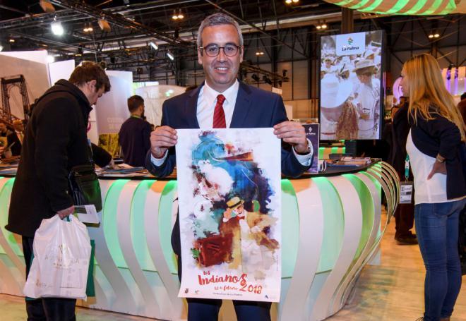 El Ayuntamiento promociona en Fitur el atractivo turístico de Los Indianos y la Semana Santa de Santa Cruz de La Palma