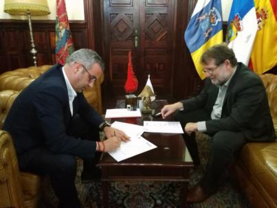 Santa Cruz de La Palma y Radio ECCA renuevan su acuerdo a favor de la formación educativa