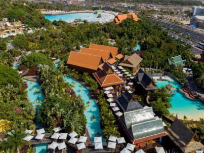 Siam Park reconocido como mejor parque acuático de Europa