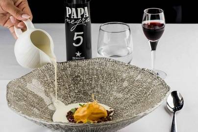El restaurante Papa Negra presenta su menú degustación para la nueva temporada