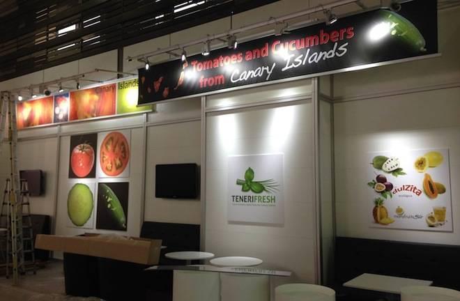 El tomate y pepino canarios se promocionan en la Fruit Logistica.