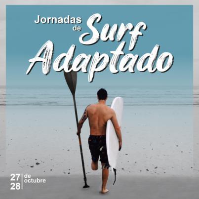 Un centenar de inscritos en las primeras Jornadas de Surf Adaptado de Las Palmas de Gran Canaria