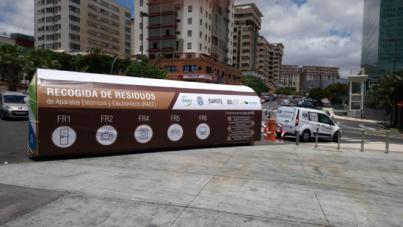 Retirados más de 1.200 kilos de residuos electrónicos durante la celebración de TLP Tenerife 2018