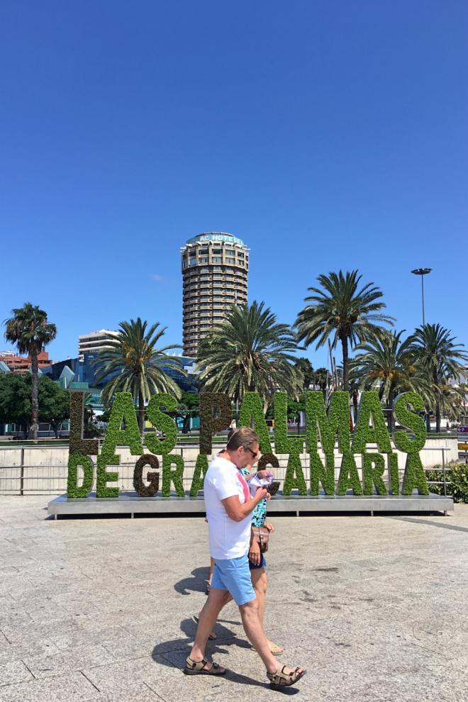 Las Palmas de Gran Canaria supera los 263.000 turistas en los primeros siete meses de 2019