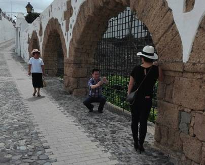 La figura de San Mao atrae agencias de viajes chinas