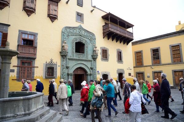 La Casa de Colón y el Jardín Canario los más visitados por los turistas