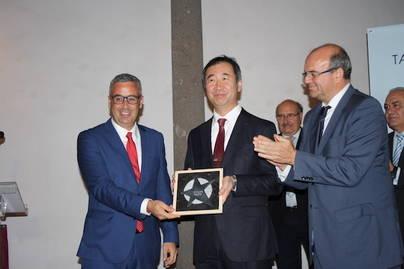 Tercera estrella del Paseo de la Ciencia al Premio Nobel de Física Takaaki Kajita