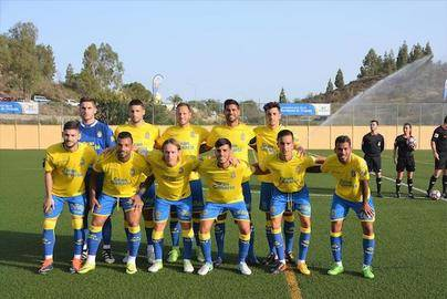 Tunte celebra el primer amistoso de pretemporada de la UD Las Palmas