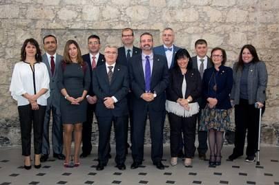 Toma de posesión de los miembros del equipo de Gobierno de la ULPGG