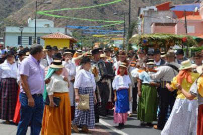 Hermigua celebra el 2 de septiembre su Romería