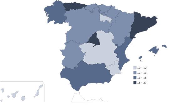 El 9,6% de los canarios teletrabajan de manera habitual, el porcentaje más bajo del país