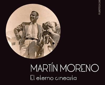 Filmoteca presenta el libro del cineasta Martín Moreno