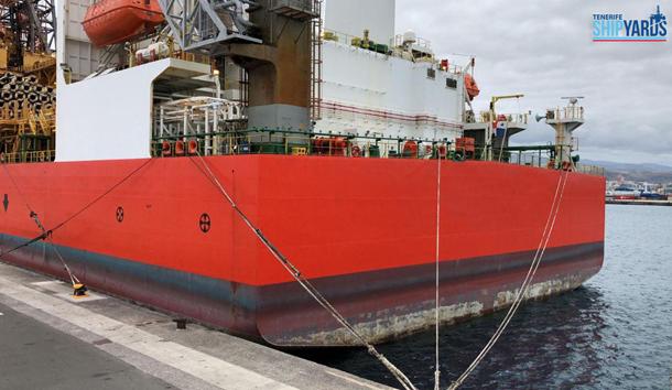Tenerife Shipyards recupera un proyecto de la empresa internacional Seadrill