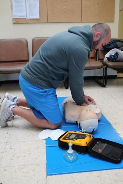 El CEIP Yaiza se convierte en zona cardioprotegida