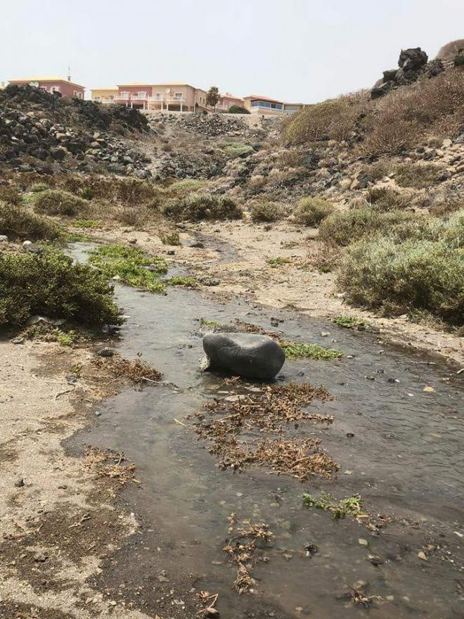 Nuevo vertido de aguas fecales en El Médano