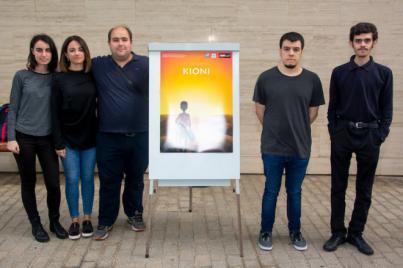 El equipo de 'El camino de Kioni', premiado en la presentación de proyectos del curso de 'Experto Universitario en Diseño y Programación de Videojuegos'