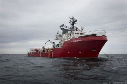 Italia autoriza el desembarco de los migrantes del 'Ocean Viking' en Lampedusa