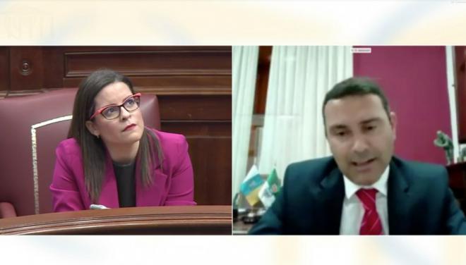 Oswaldo Betancort pone de manifiesto la carencia de la gestión del Gobierno de Canarias durante la crisis