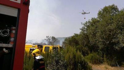 Conato de incendio en la zona de Breña Alta