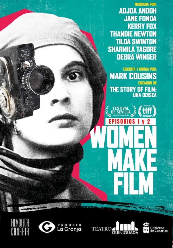 Filmoteca Canaria proyecta la serie documental 'Women Make Film', una revisión del cine desde la mirada femenina