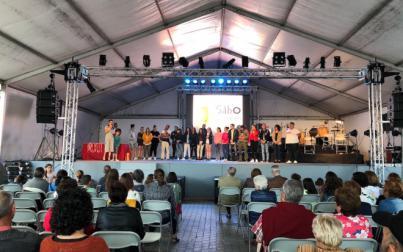 Más de 40 silbadores participan en la X Edición del Concurso de Silbo Gomero