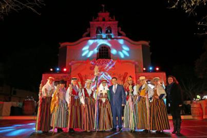 Georgina Graziana Dabbene, de Los Cristianos, Romera Mayor de las fiestas patronales en honor a San Antonio Abad