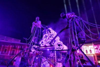 El teatro toma la calle en el arranque de la 22 edición del Festival Temudas
